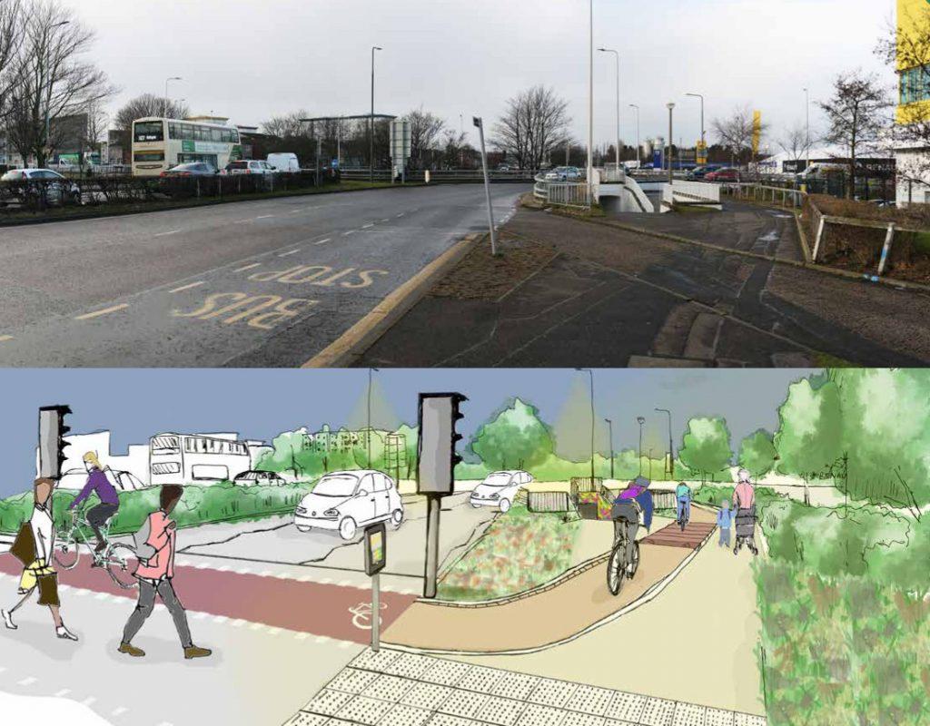 Visual 5 - Calder Road